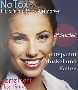 NoTox - die giftfreie Botox Alternative